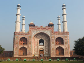 Entrance to Akbar's Tomb